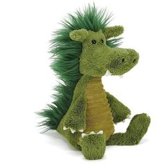 """Jellycat Snagglebaggle Dudley Dragon 14"""""""
