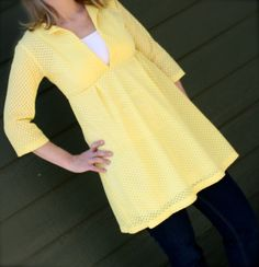 2nd Story Sewing: Schoolhouse Tunic