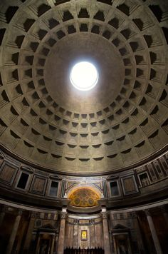 "greekconvention: "" greece-is-the-word: "" its-greektome: "" eccellenze-italiane: "" Pantheon. Rome, Italy da Phil Bywater "" This image really highlights the grandeur of the pantheon. Roman Architecture, Classic Architecture, Ancient Architecture, Amazing Architecture, High Hd Wallpaper, Italian Beauty, Grand Mosque, Parks, Ancient Rome"