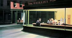 parodies de Nighthawks dEdward Hopper nighthawks parodie 007 list of design art