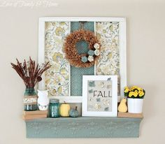 Modern Blue Home Decor | 10 Fall Decorating Ideas for Blue Rooms