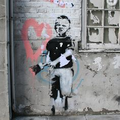 Banksy - Angel by Banksy - art print from King & McGaw