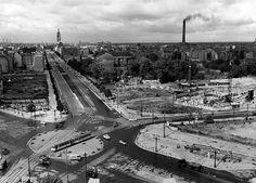 1956 Ernst-Reuter-Platz und Berlinerstrasse