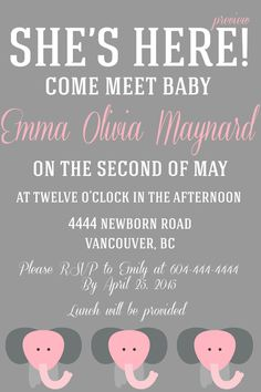A Baby Must Meet Greet Invitation By Wifeyco On Etsy Welcome Party