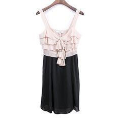 Multi Layer Woven Fabric Dress