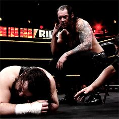 Baron Corbin vs. Bull Dempsey #NXT #EndOfDays #AllHail