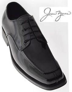 Jean Yves Black Boston Patent Leather Shoe