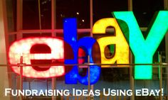 Want some profitable fundraising ideas using eBay? Find them out on this eBay Fundraiser page...  http://www.rewarding-fundraising-ideas.com/fundraising-ideas-using-ebay.html  (Photo by Brian Cantoni / Flickr.com)