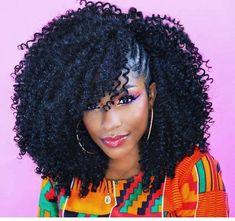 Ideen von Crochet Braids Frisuren Crochet Hair Styles crochet braids styles with curly hair Curly Crochet Hair Styles, Crochet Braid Styles, Curly Hair Styles, Crochet Weave Hairstyles, Curly Crochet Braids, Crochet Mohawk, Best Crochet Hair, Mohawk Styles, Curly Braids