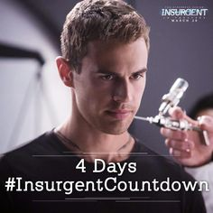4 days to Insurgent...OH MY GOD I CAN'T EVEN LIKE WHY DOES IT HAVE TO BE SO LONG I AM SO EXCITED JDKSHAFIDSHAFUIODHSAUFHDSUAH