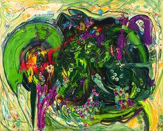 Artwork >> Jürgen Grafe >> THE GREEN PLANET EARTH #artworks, #green, #earth, #masterpiece, #oiloncanvas, #planet