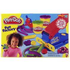 Play Doh Fun Factory - great for hand strength & play doh exposure