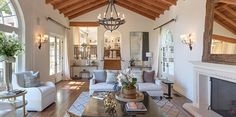 De villa in Beverly Hills van zakenvrouw en model Tyra Banks