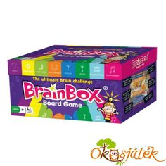 Shop for The Green Board Game Co. Brainbox Board Game - The Ultimate Brain Challenge. Compare live & historic toys and game prices. Best Family Board Games, Fun Board Games, Family Games, Best Games, Board Game Store, Go Board, Jouer, Game Night, Math Games