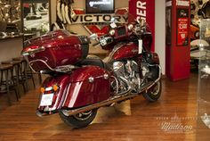 2017 Indian® Roadmaster® Burgundy Metallic Stock: IM343568 | Indian® Motorcycle of Madison