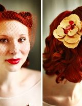 Vintage hair to die for  I want