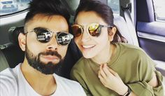 "Virat Kohli shared a picture with her rumored girlfriend Anushka Sharma on Instagram and lovingly tagged it: ""Much needed break with my (love)."""