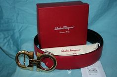 cool Men's Authentic Salvatore Ferragamo Reversible Belt Red Black 10040 34-36 NWT Check more at http://shipperscentral.com/wp/product/mens-authentic-salvatore-ferragamo-reversible-belt-red-black-10040-34-36-nwt/