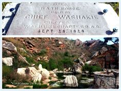 La piscina di Chief Washakie a Thermopolis