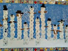 Snowmen with names