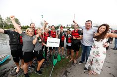 Podium celebrations and the obligatory team photos. It's safe to say we enjoyed the return of the #F1RaftRace!