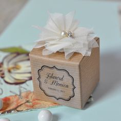 Vintage Wedding Favor Boxes (Set of 12) (Event Blossom EB2375) | Buy at Wedding Favors Unlimited (http://www.weddingfavorsunlimited.com/vintage_favor_boxes_set_of_12.html).