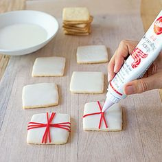 Easy cookie decorating 6 quick ways to dress up your favorite recipes Cupcakes, Cupcake Cookies, Sugar Cookies, Cookies Et Biscuits, Shortbread Cookies, Holiday Baking, Christmas Baking, Christmas Treats, Christmas Cookies