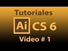 Tutorial Illustrator CS 6 (Español) INICIO. Iterfaz, Mapa de bits, Vector, RGB y CMYK, Dibujos - YouTube