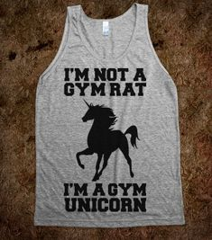 I'm Not A Gym Rat I'm A Gym Unicorn - workout shirts - Skreened T-shirts, Organic Shirts, Hoodies, Kids Tees, Baby One-Pieces and Tote Bags