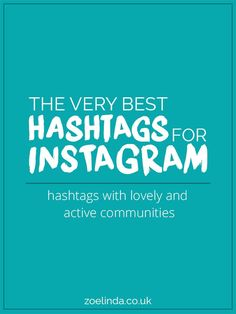 Struggling to get good engagement on Instagram? Take a look at my guide for the best Instagram hashtags to use! Up Your #InstaGame: The Best Hashtags To Use On Instagram