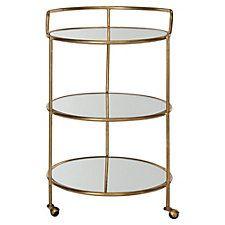 Dominkika Bar Cart, Gold