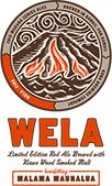 Our limited edition Wela Red Ale honors the fiery spirit of the Hawaiian people. The malted barley that gives this ale its rich taste is cold smoked with local Kiawe wood we harvested less than a mile from our brewery. Smooth and never bitter, this island-inspired Scottish style ale has a copper hue and subtly smoky flavor that will make you feel like you're next to a bonfire on the beach.
