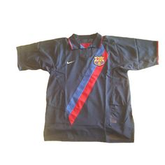 cced91b4bb0 NIKE BARCELONA 2003 AWAY 3RD PLAYERS VERSION JERSEY