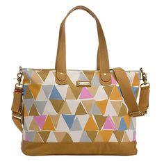 Buy Storksak Tote Changing Bag, Triangle Online at johnlewis.com