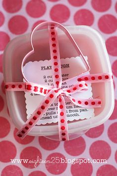 Cute idea for party favor or valentines gift