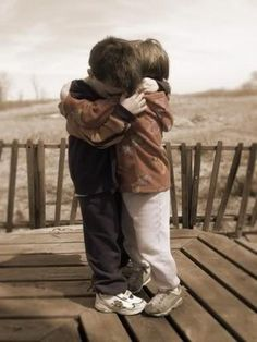 A simple hug that always warms Thy Heart