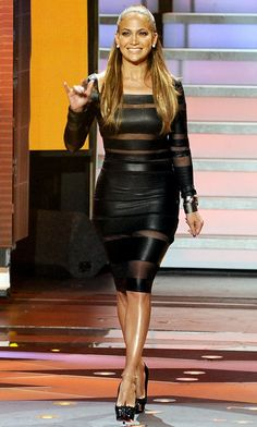 Jennifer Lopez in Catherine Malandrino Fall 2012