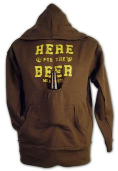 the brown version of the greatest hoodie of all time