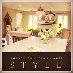 The shabby chic farm house style is one of my favorite farm house styles! This mixes rustic with shiny sparkly elements. It's a perfect blend of masculine and feminine. Beautiful and relaxing! Come and read the full story and see all the pictures! Journeytofarmlife.com #shabby (scheduled via http://www.tailwindapp.com?utm_source=pinterest&utm_medium=twpin&utm_content=post150708307&utm_campaign=scheduler_attribution)