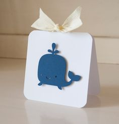 Whale Boy Baby Shower Navy and Yellow First by CardinalBoutique, $74.00