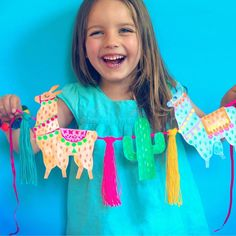 One of 18 llama themed craft projects featured in Llama Crafts by Ellen Deakin of Happythought! Girl Bedroom Designs, Girls Bedroom, Sprinkles, Needle Felted, Diy Garland, Book Crafts, Happy Thoughts, Story Time, Spirit Animal