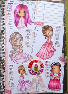 Copic Coloring Journals