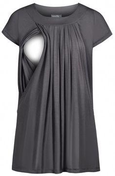 nouveau bleu de maternité breastfeeding nursing robe longue taille s m l 8 10 12 14 Promotion
