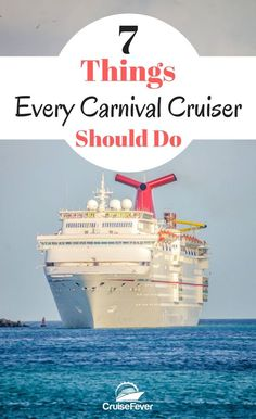 Millions with Carnival every year, but many of them fail to do these 7 things to make their Carnival cruise even better. How do you get ready for your Let us know. Asia Cruise, Bahamas Cruise, Best Cruise, Cruise Port, Cruise Travel, Caribbean Cruise, Cruise Vacation, Solo Travel, Cruise Ships
