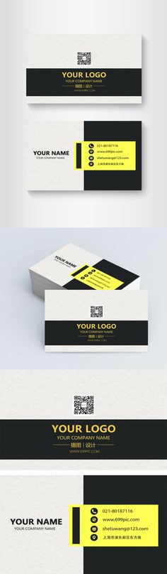Design of black and yellow geometric business card Business, business card, business card design, personal business card, business card, general business card, business card, concise business card, simple business card, concise, simple business card background, business card template