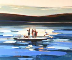 """Saatchi Art Artist Elizabeth Lennie; Painting, """"Summer"""" #art"""