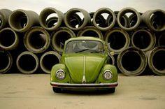 #vwbug #green