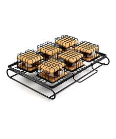 Cuisinart Grill/Oven SMore Maker | zulily.Here is the no muss no fuss way to make marshmallow, chocolate and graham cracker s'mores on the grill or in your oven. The special metal cage keeps them all in place and ready to serve in minutes.