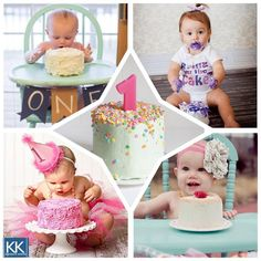 Have a little one that's about to celebrate their first birthday? Make sure they enjoy their cake as much as you do with their very own smash cake! #firstbirthday #smashcake #sweetsaturdays #signatureeventsnashville #birthdaypartyplanning
