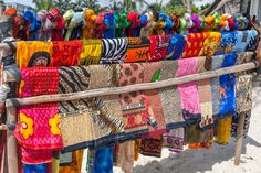 Colourful Scarves in Kenya jigsaw puzzle
